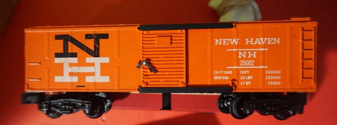 25082 american flyer new haven hay jector rare box - 2