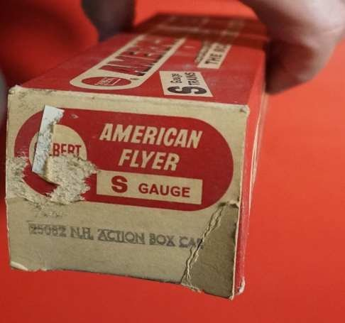 25082 american flyer new haven hay jector rare box - 4