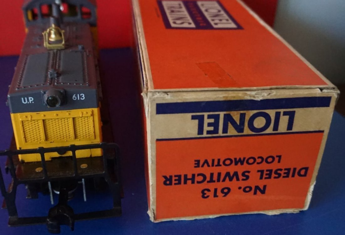 lionel 613 up diesel 1958 mint in box - 4