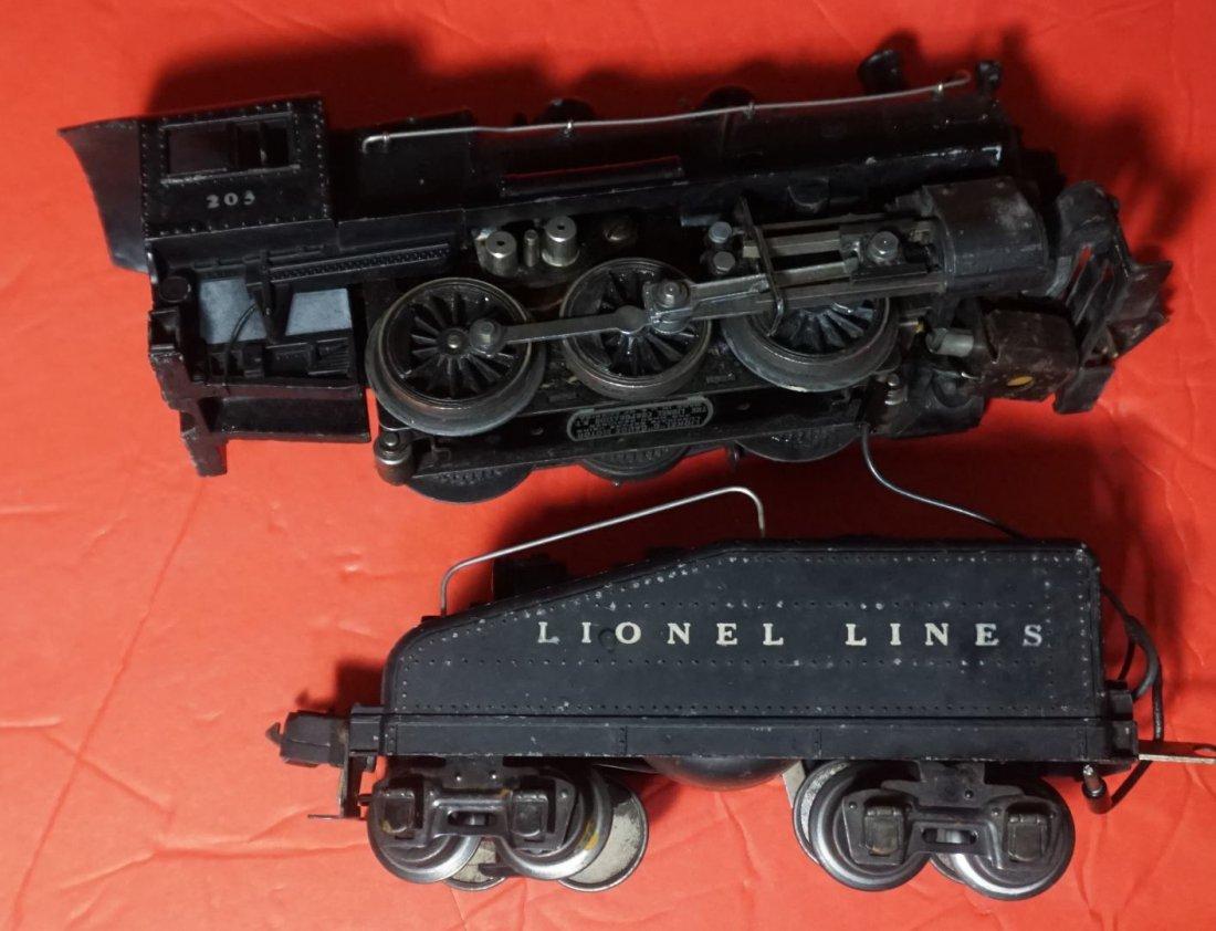 Lionel 203 203b switching locomotive ca 1940