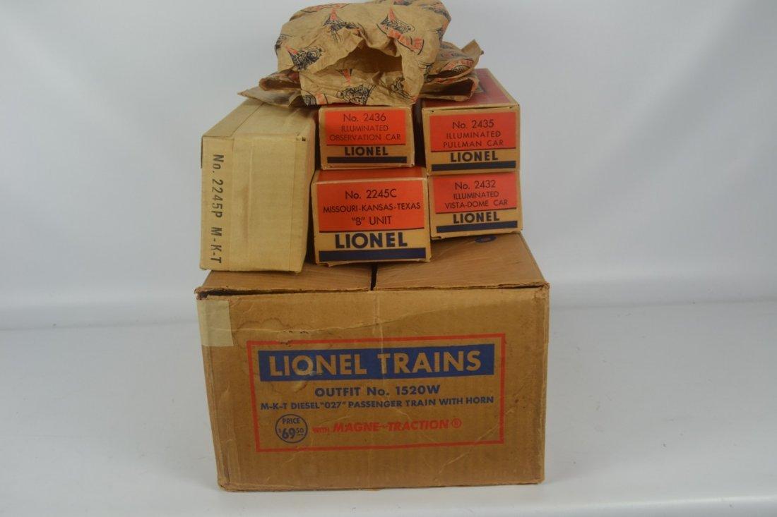 Lionel Postwar Texas Special Passenger Set #1520W - 10