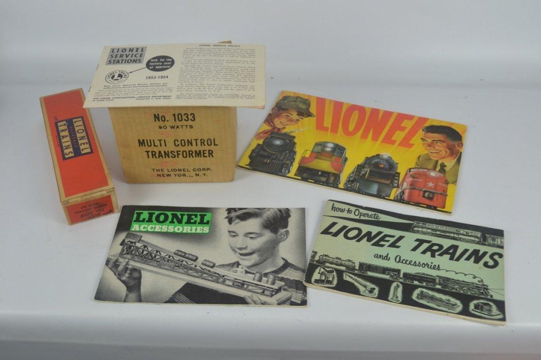 Lionel Postwar Texas Special Passenger Set #1520W - 5