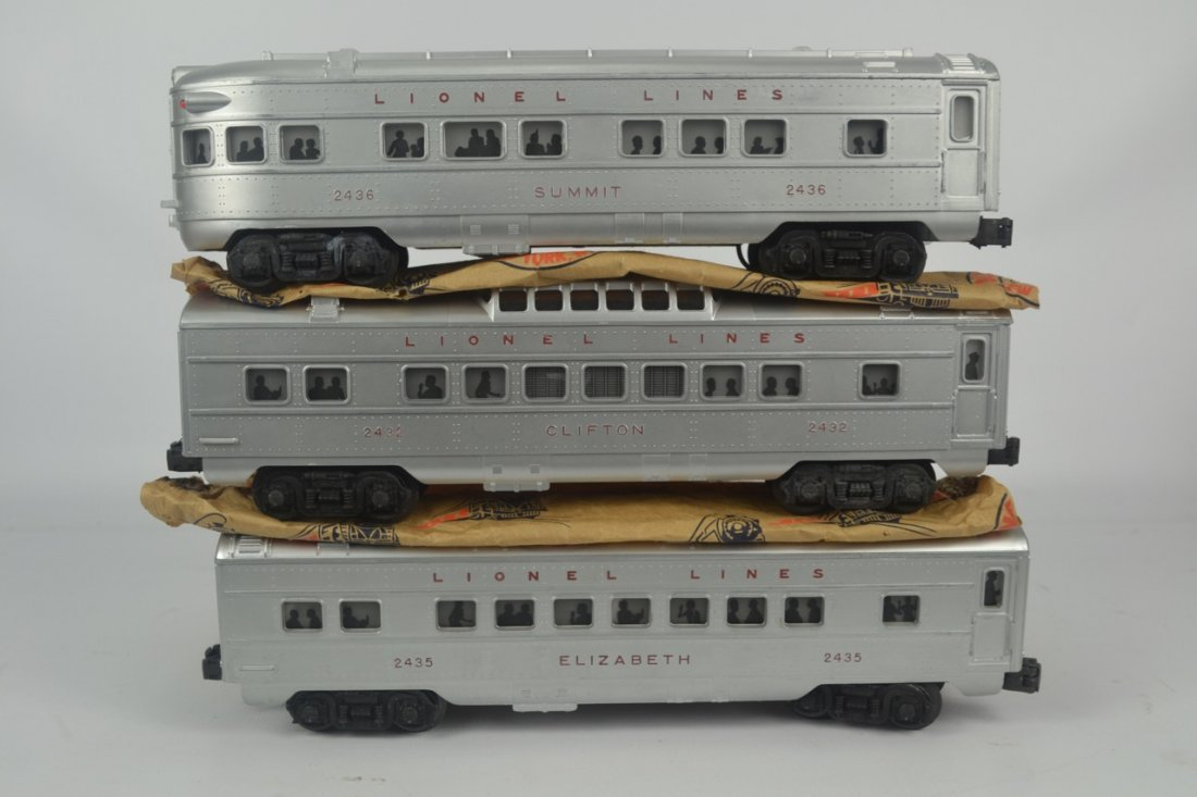 Lionel Postwar Texas Special Passenger Set #1520W - 7