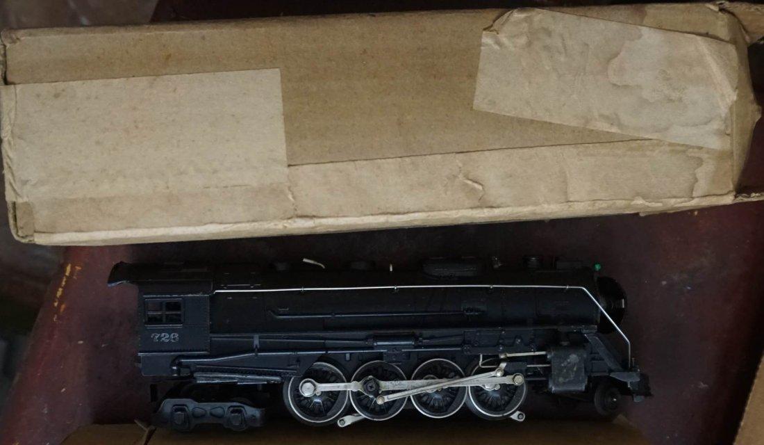 Lionel 726 Berkshire 2-8-4 steamer ca 1948 boxed - 3