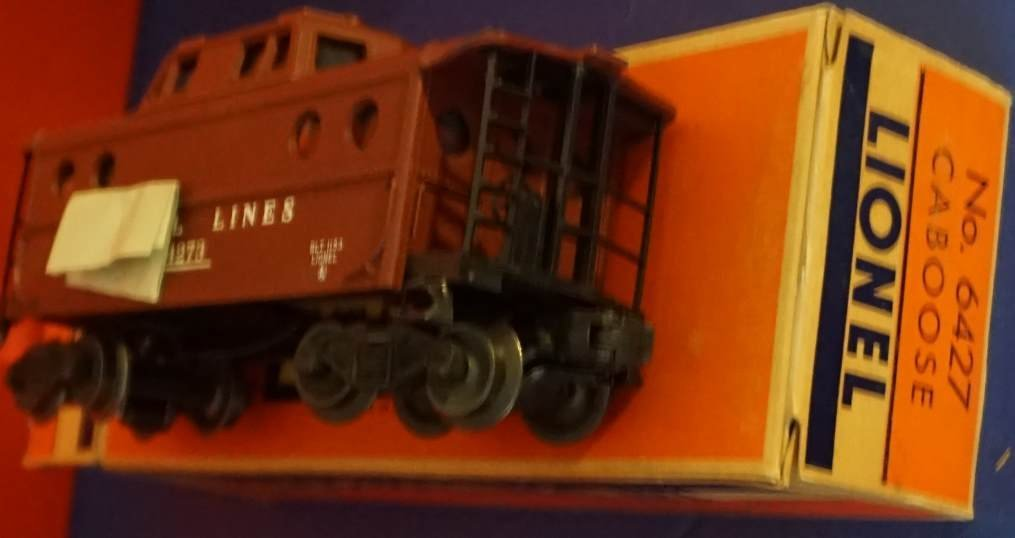 ionel 6427 nc 5 caboose mint boxed - 2