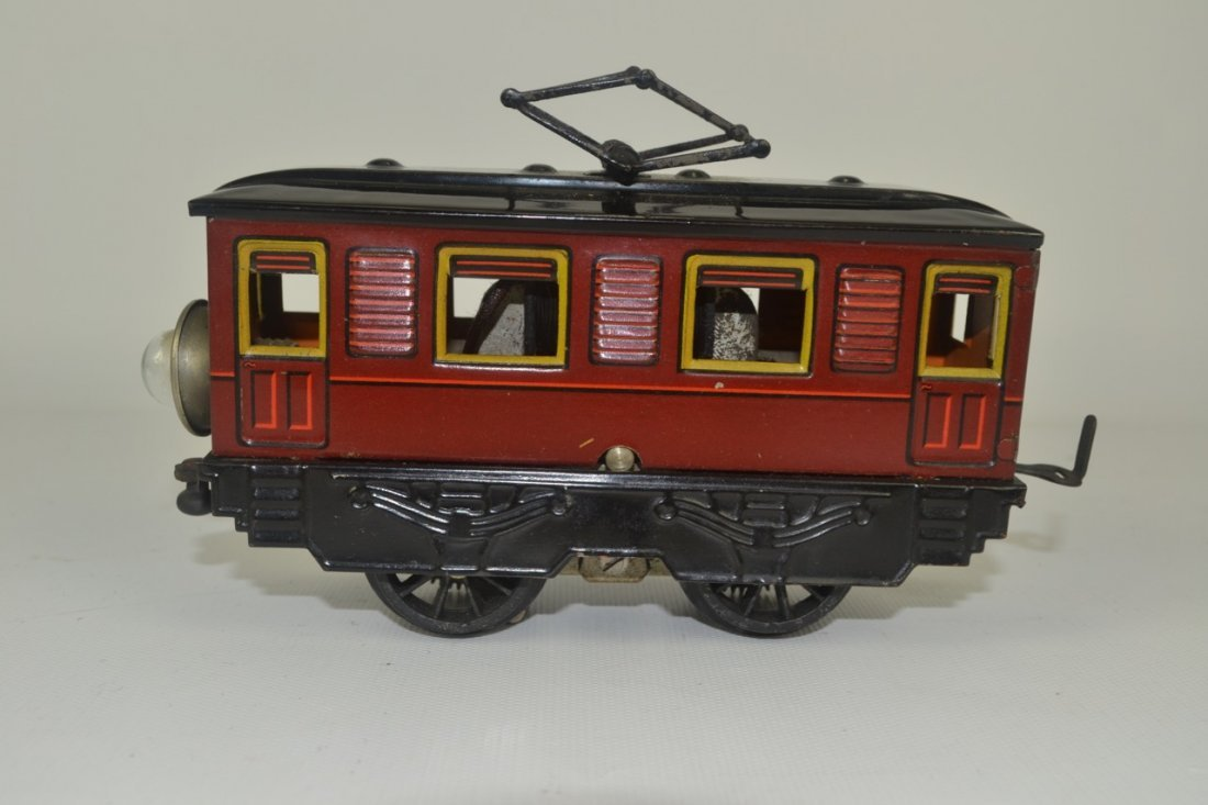 Karl Bub Litho O'gauge Trolley