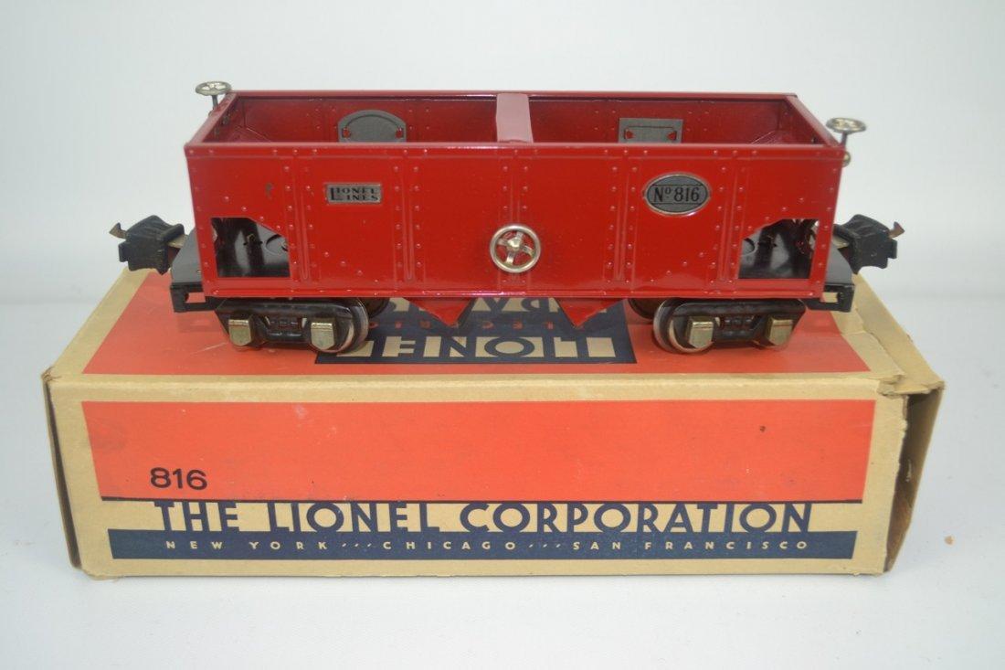 Lionel Pre-war O'gauge 816 Nickel Trim