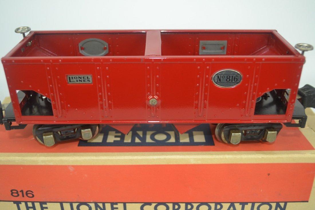 Lionel Pre-war O'gauge 816 Nickel Trim - 3