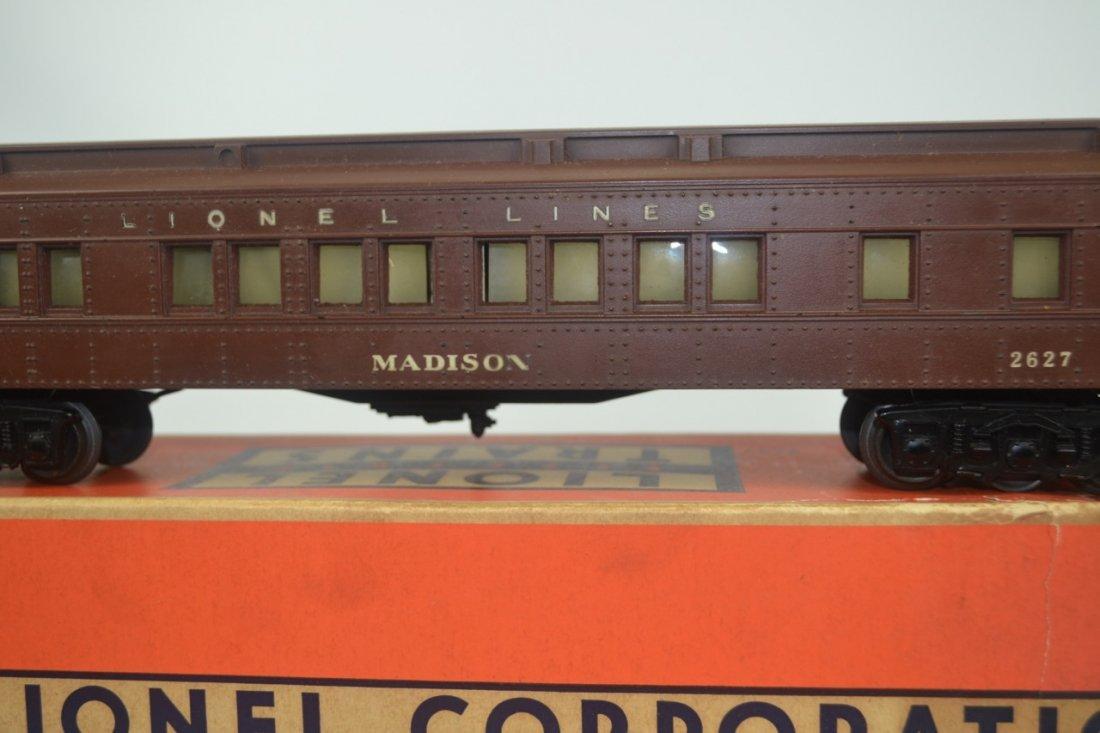 Lionel Postwar 2627 Madison Car-Boxed - 2