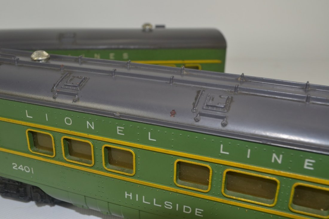 Lionel 2400 and 2401 Passenger Cars-OB - 7