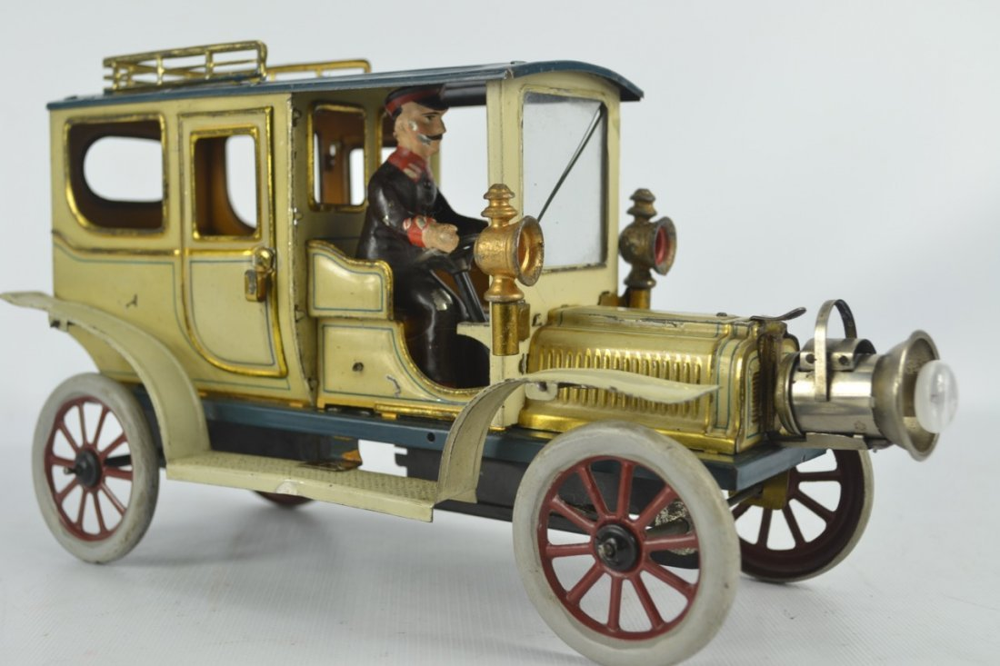 Carette Limousine Tin Litho Toy Car