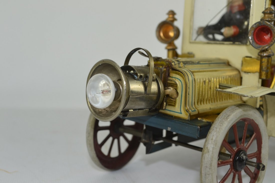 Carette Limousine Tin Litho Toy Car - 6