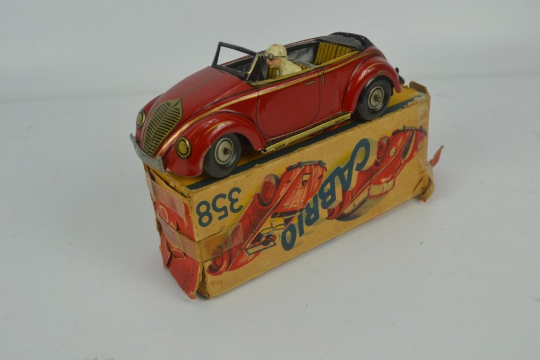 CKO Tin Toy Cabrio Car with Box