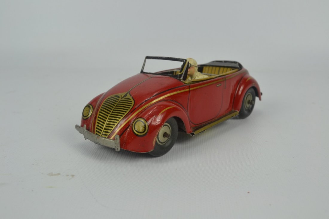 CKO Tin Toy Cabrio Car with Box - 5