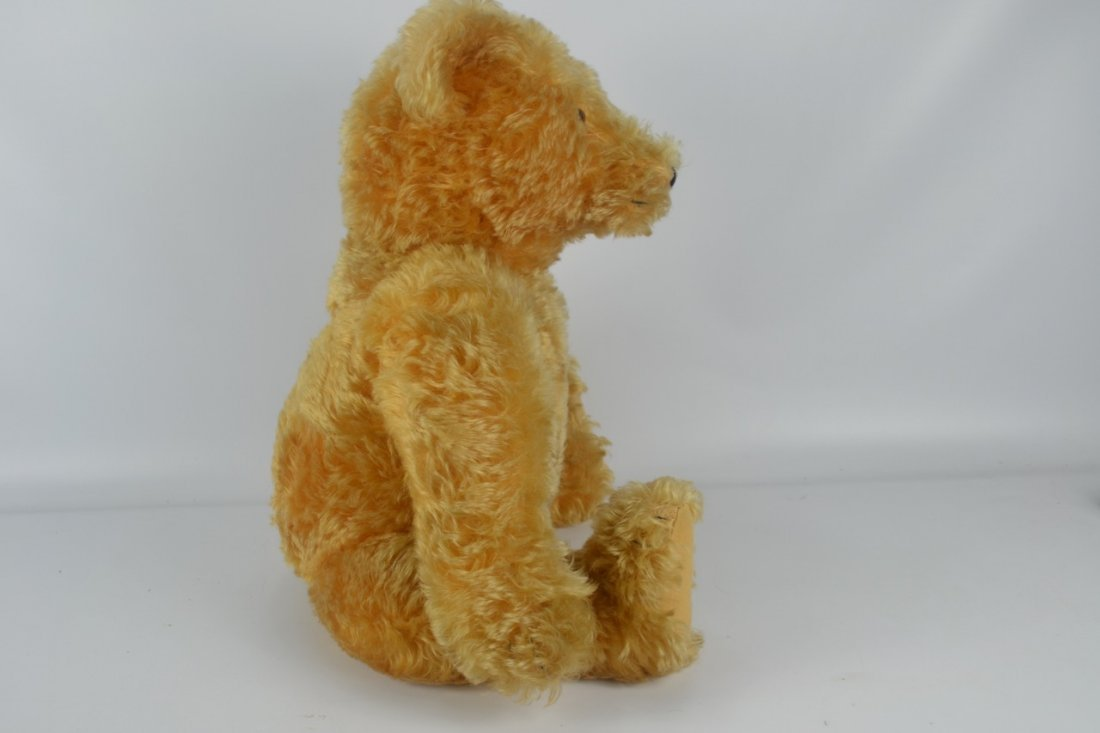 Antique XL Jointed Mohair Teddy Bear-Candy Container - 4