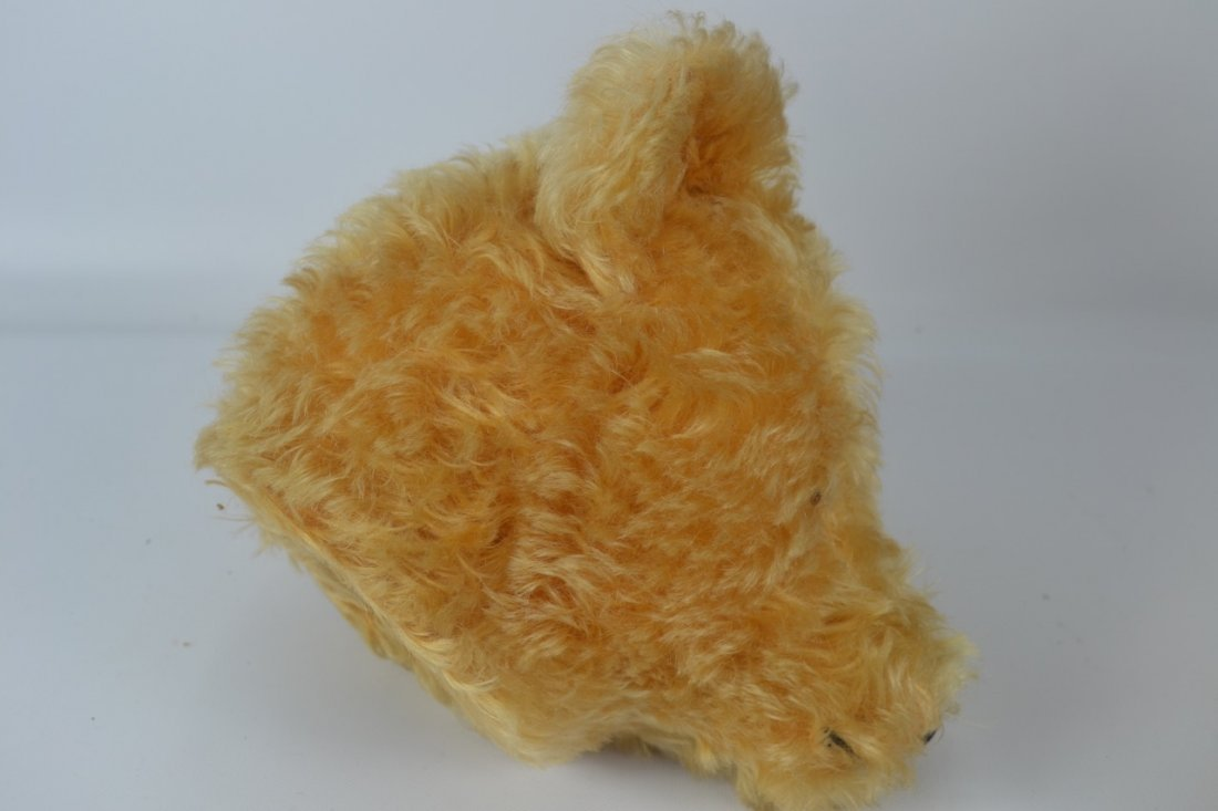 Antique XL Jointed Mohair Teddy Bear-Candy Container - 6