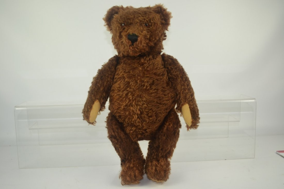 Antique Jointed Mohair Teddy Bear - 6