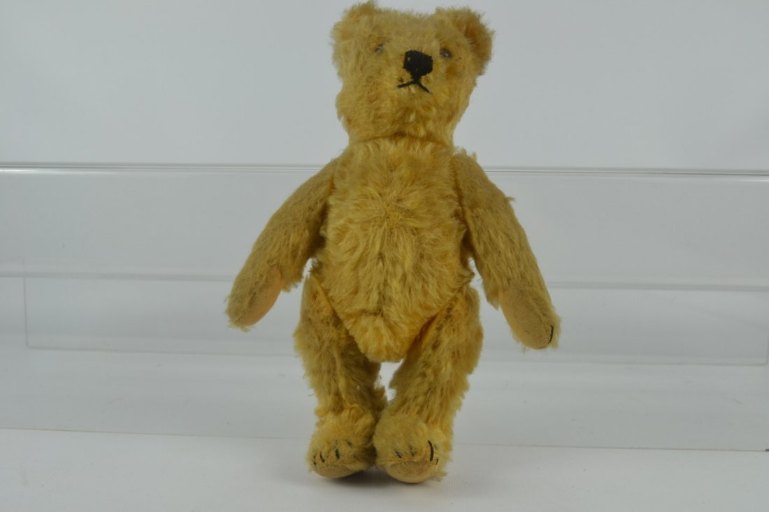 Antique Fully Jointed Teddy Bear-Possibly Steiff - 4