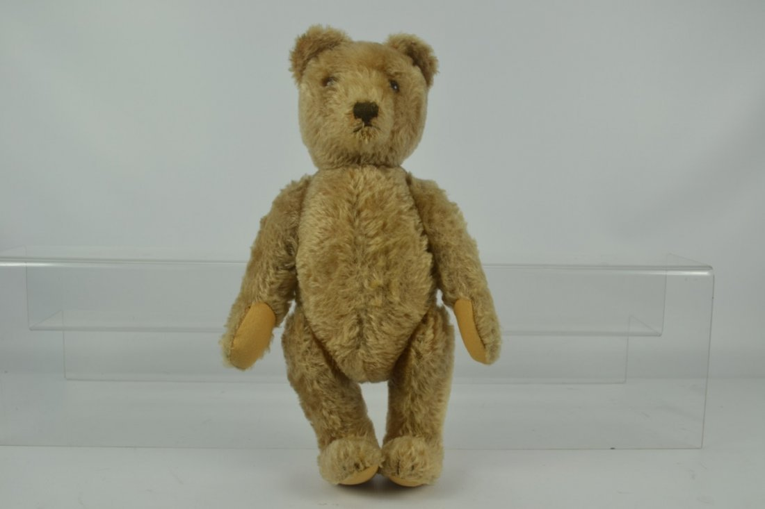 Antique Fully Jointed Teddy Bear-Possibly Steiff - 6