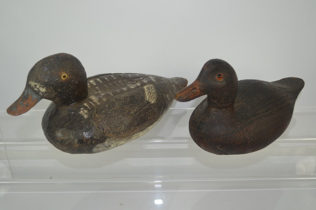 Lot of Four (4) Antique Duck Decoys - 3