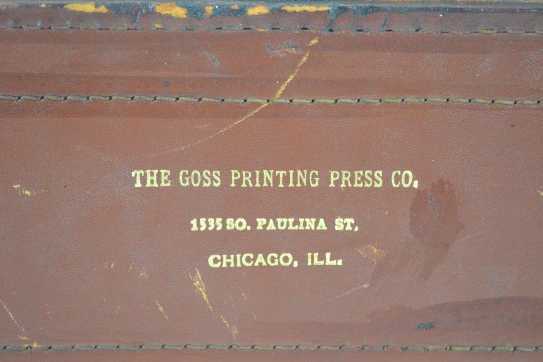 Antique Salesman's Sample Printing Press - 2