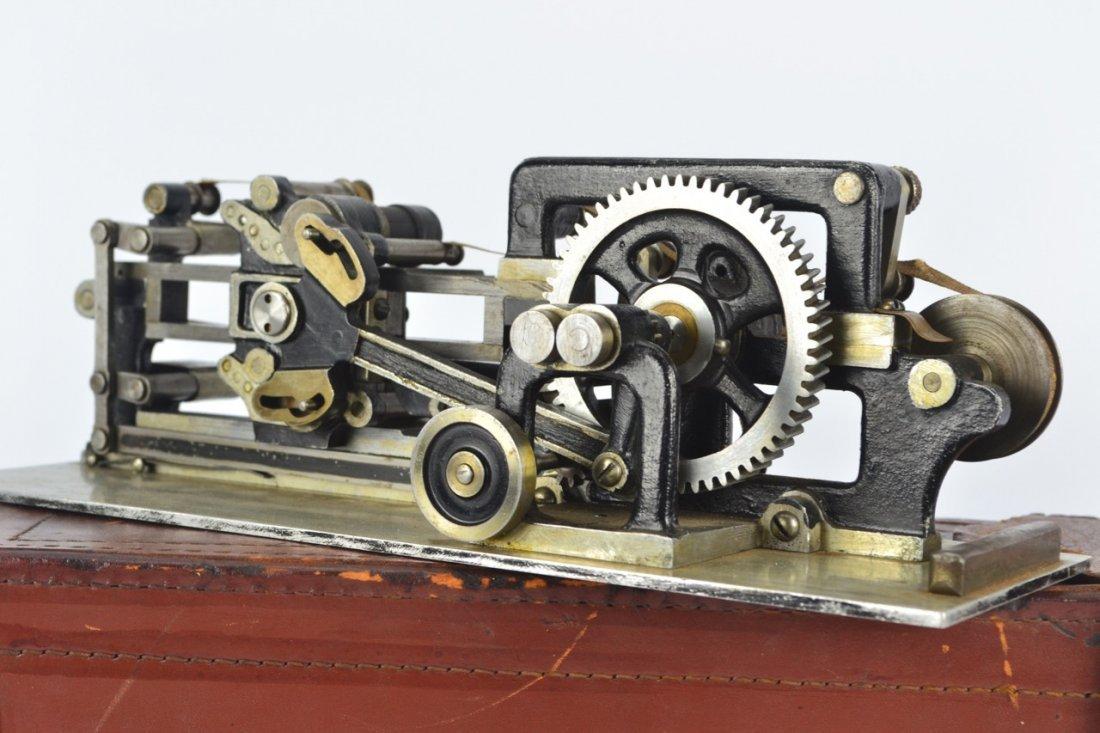 Antique Salesman's Sample Printing Press - 3