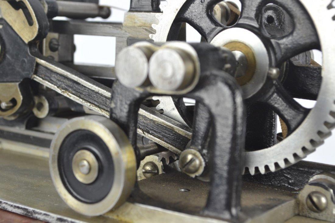 Antique Salesman's Sample Printing Press - 4