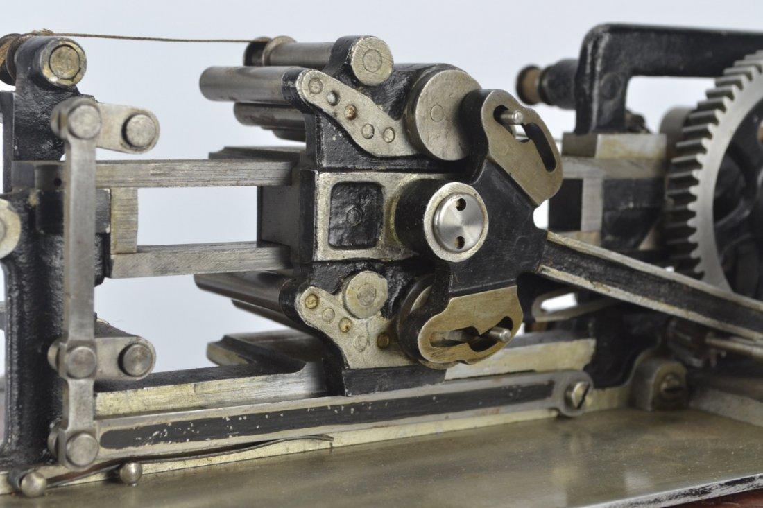 Antique Salesman's Sample Printing Press - 5