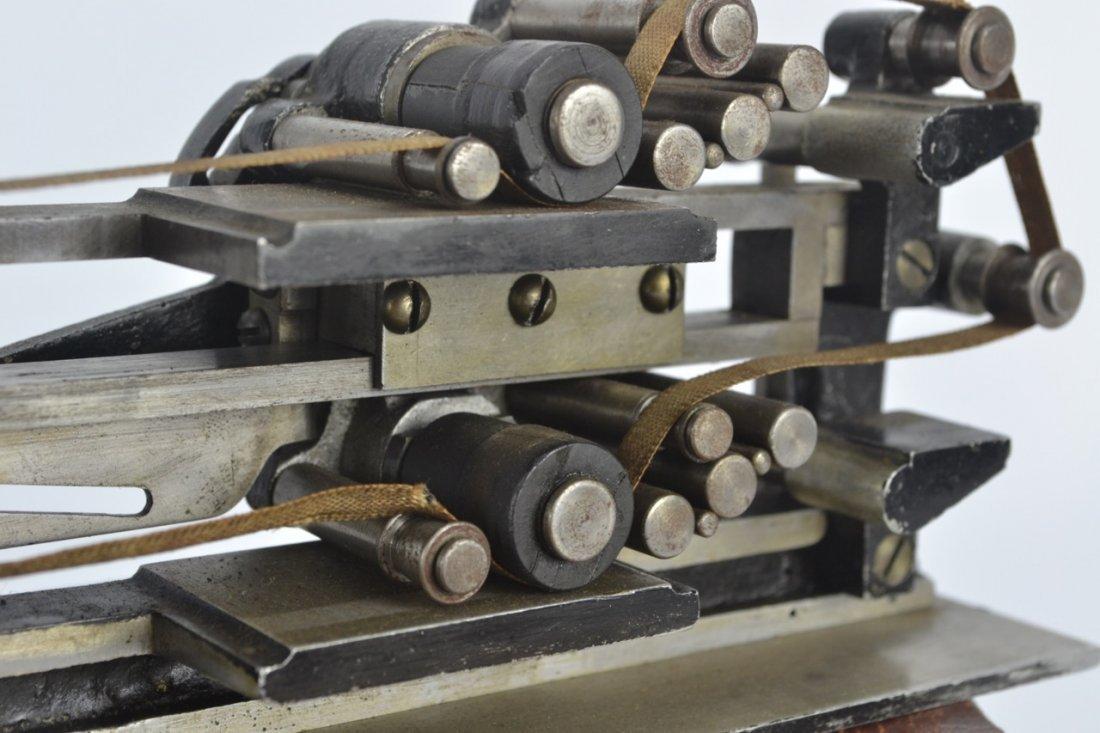 Antique Salesman's Sample Printing Press - 6