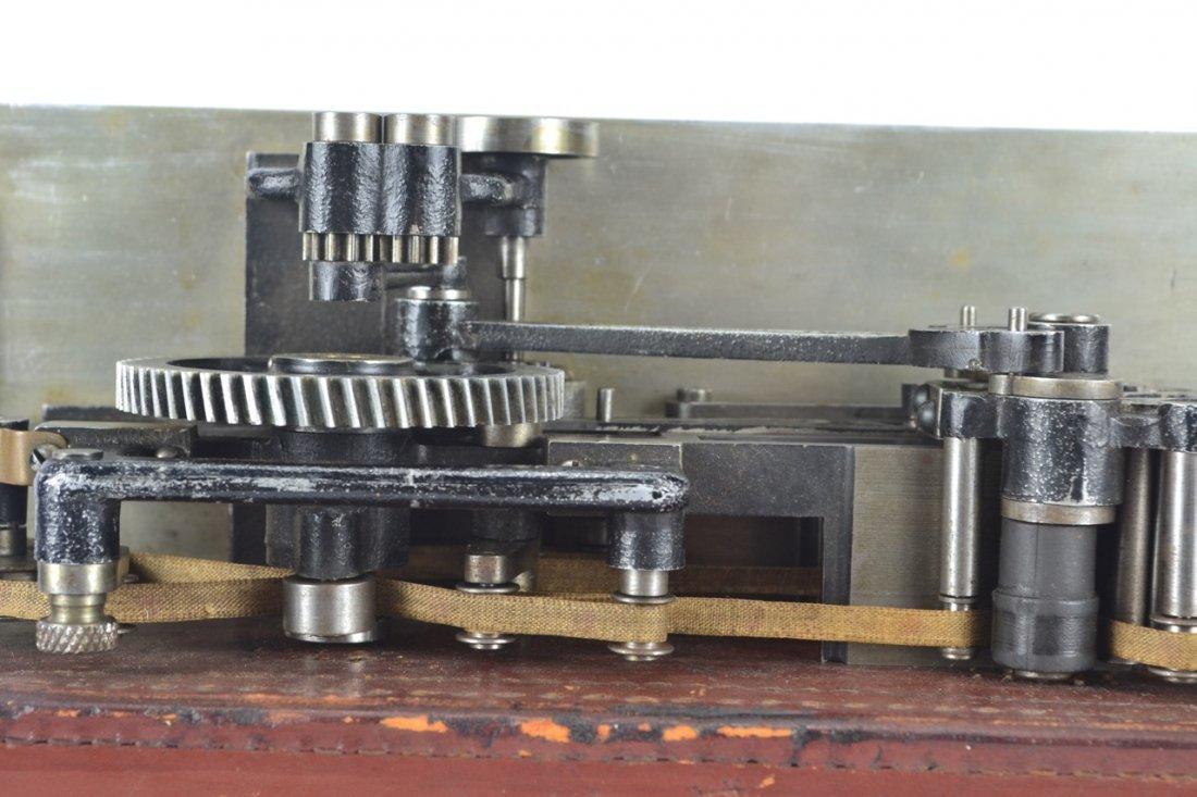 Antique Salesman's Sample Printing Press - 7