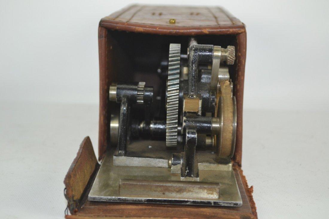 Antique Salesman's Sample Printing Press - 9