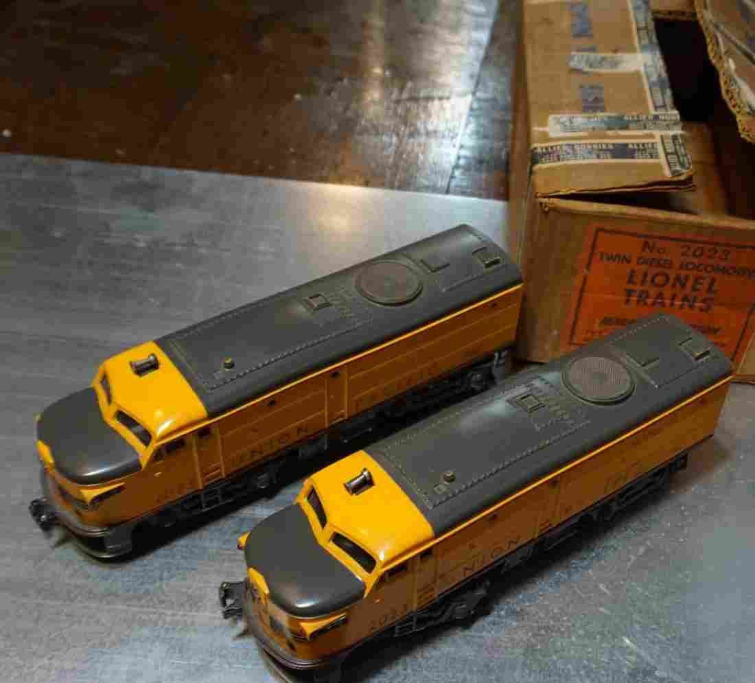 LIONEL 1950 2023 UP ALCOS GRAY NOSES BOXED