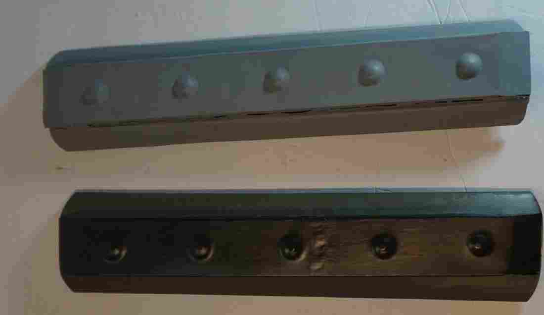 2 ives gauge one passenger car roofs