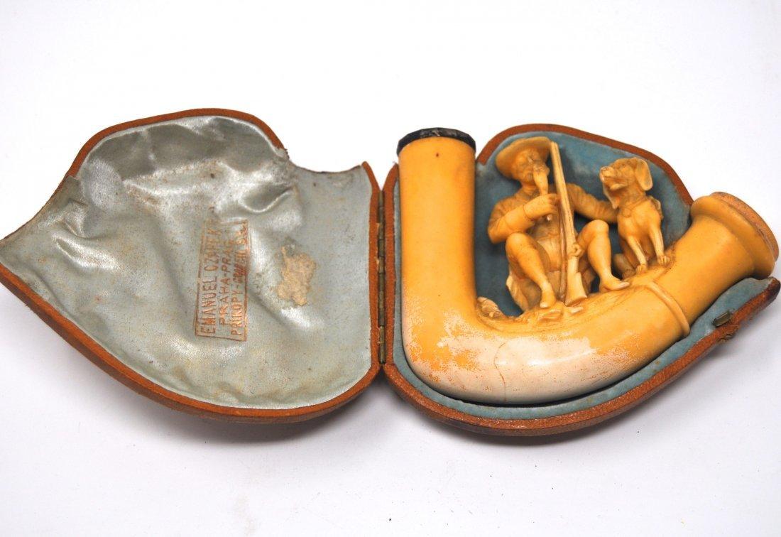 Antique Czech Meerschaum Pipe