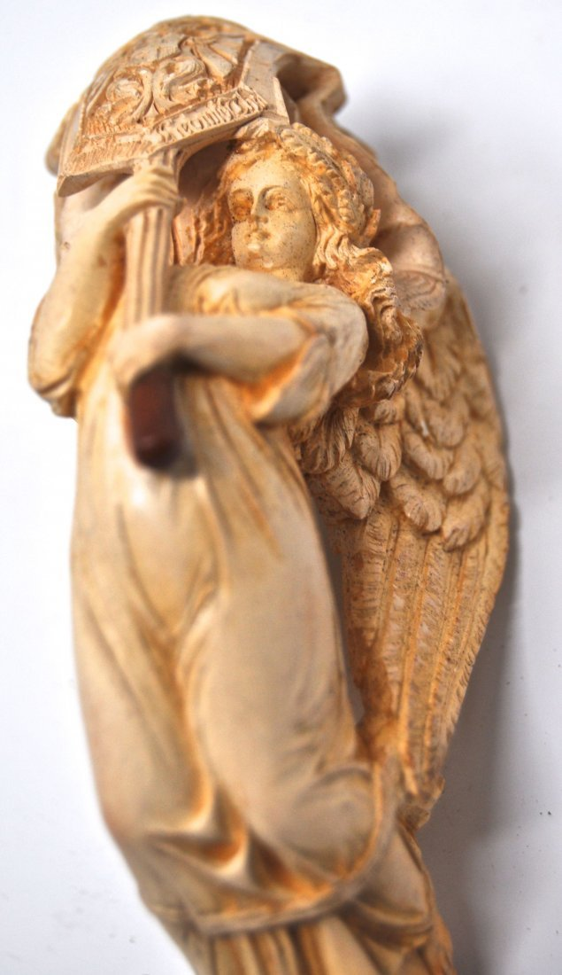 19th Century Austro-German Archangel Meerschaum Pipe - 6