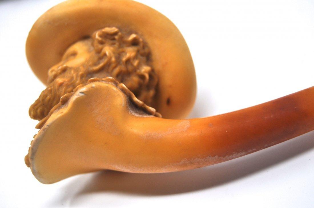 19th Century Cavalier Meerschaum Pipe - 4