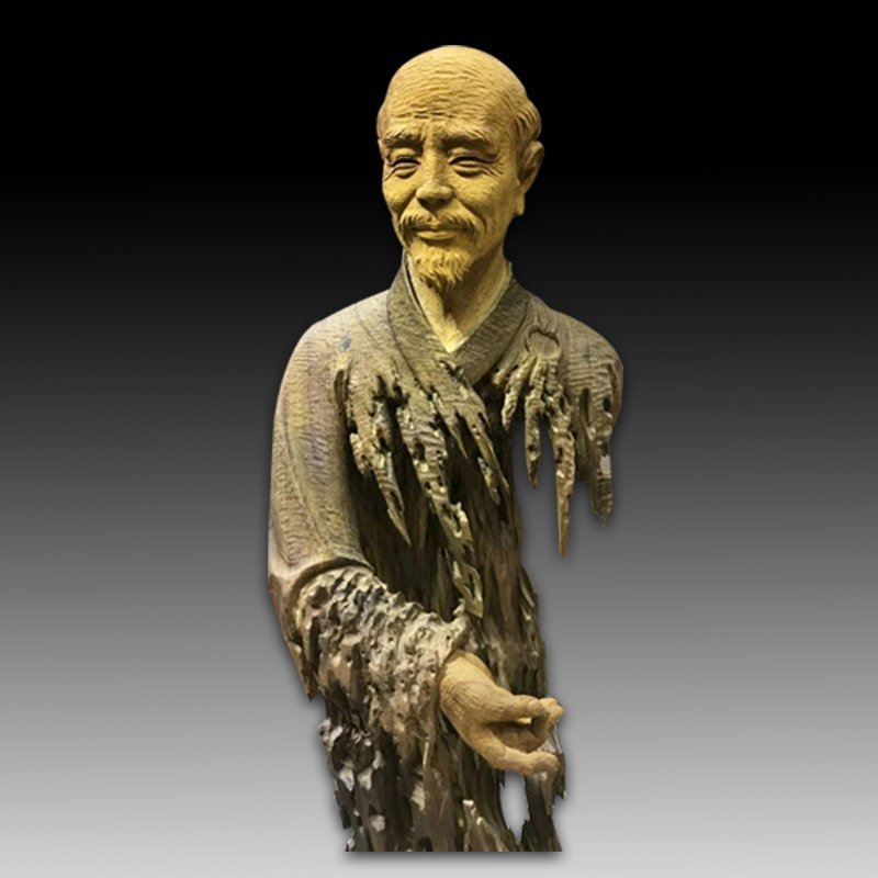 Chinese Wood Carving of Hongyifashi