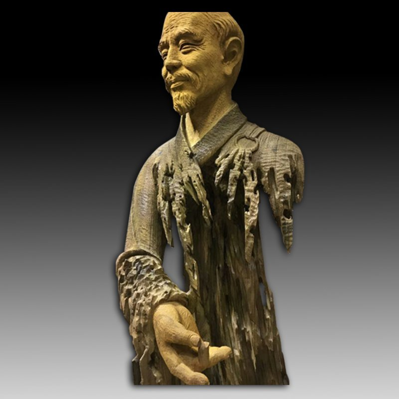 Chinese Wood Carving of Hongyifashi - 5