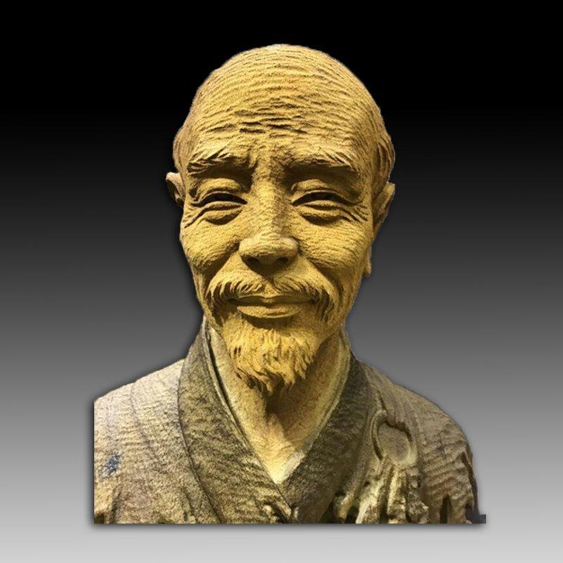 Chinese Wood Carving of Hongyifashi - 8