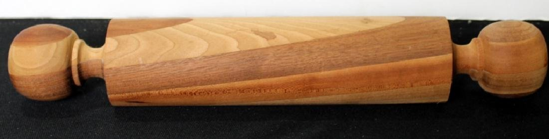 Four Vintage Wood Rolling Pins - 3