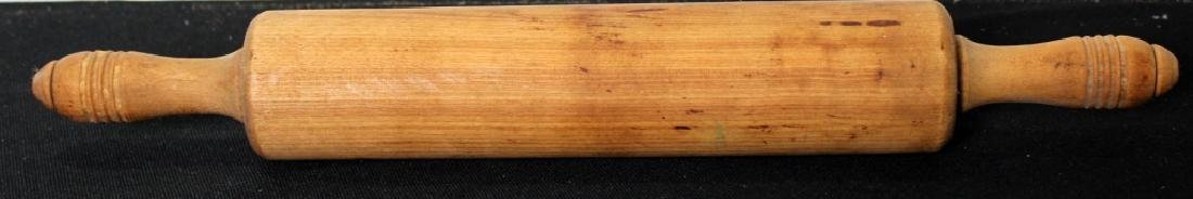 Four Vintage Wood Rolling Pins - 4