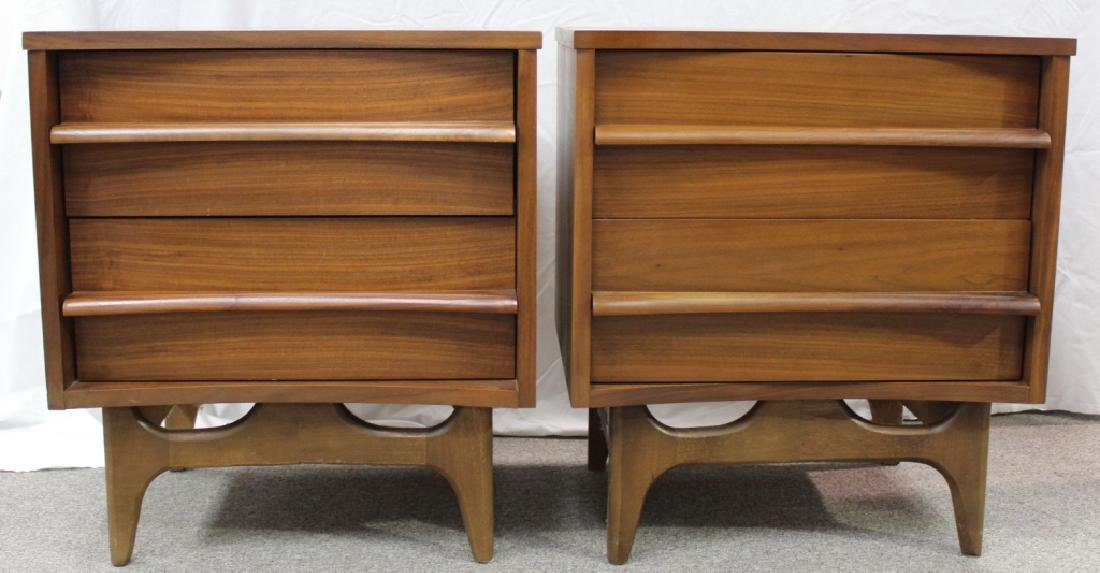 Mid-Century Night Stands (Pair)