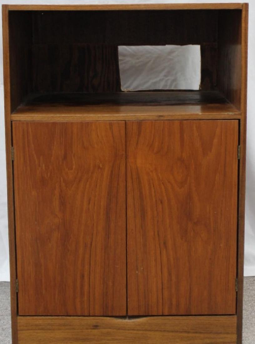 Mixed Wood 2-Door Cabinet