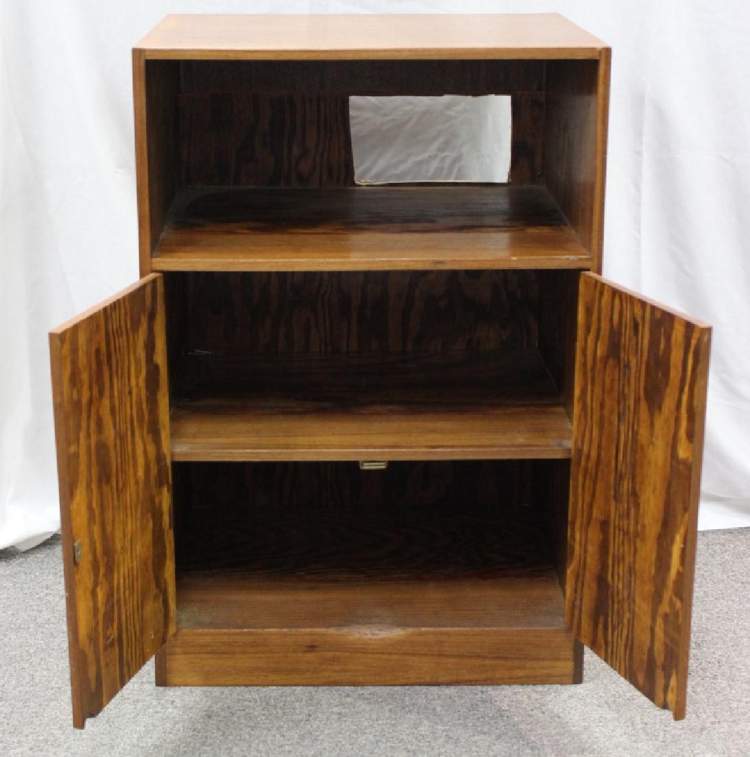 Mixed Wood 2-Door Cabinet - 2