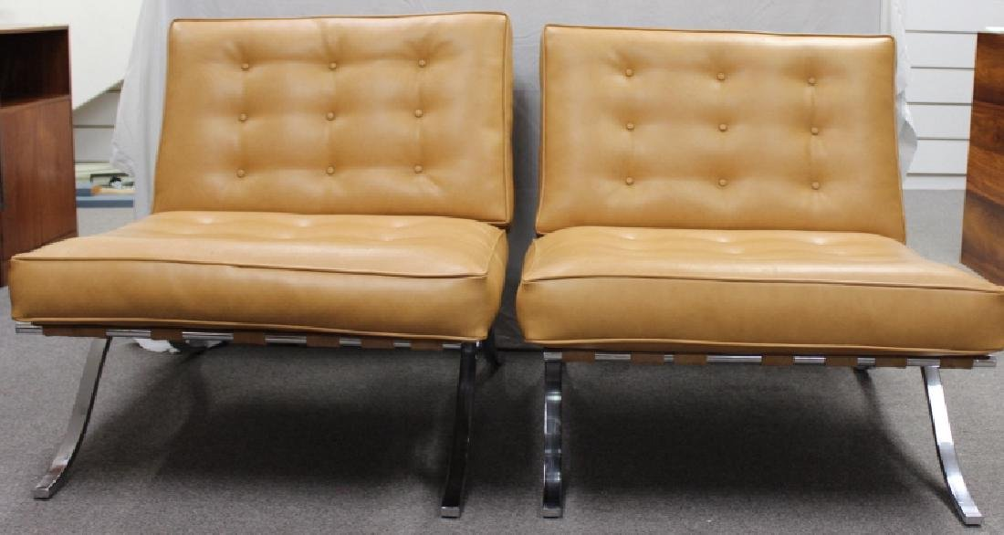 Selig Mid-Century Chairs, Beige