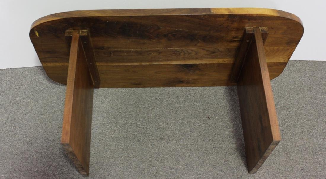 Mid-Century Style Walnut Coffee Table