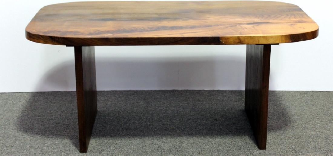 Mid-Century Style Walnut Coffee Table - 2