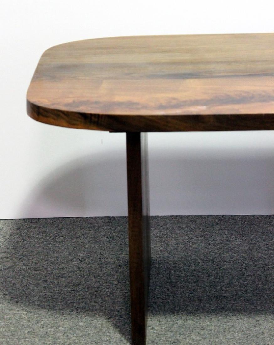 Mid-Century Style Walnut Coffee Table - 3