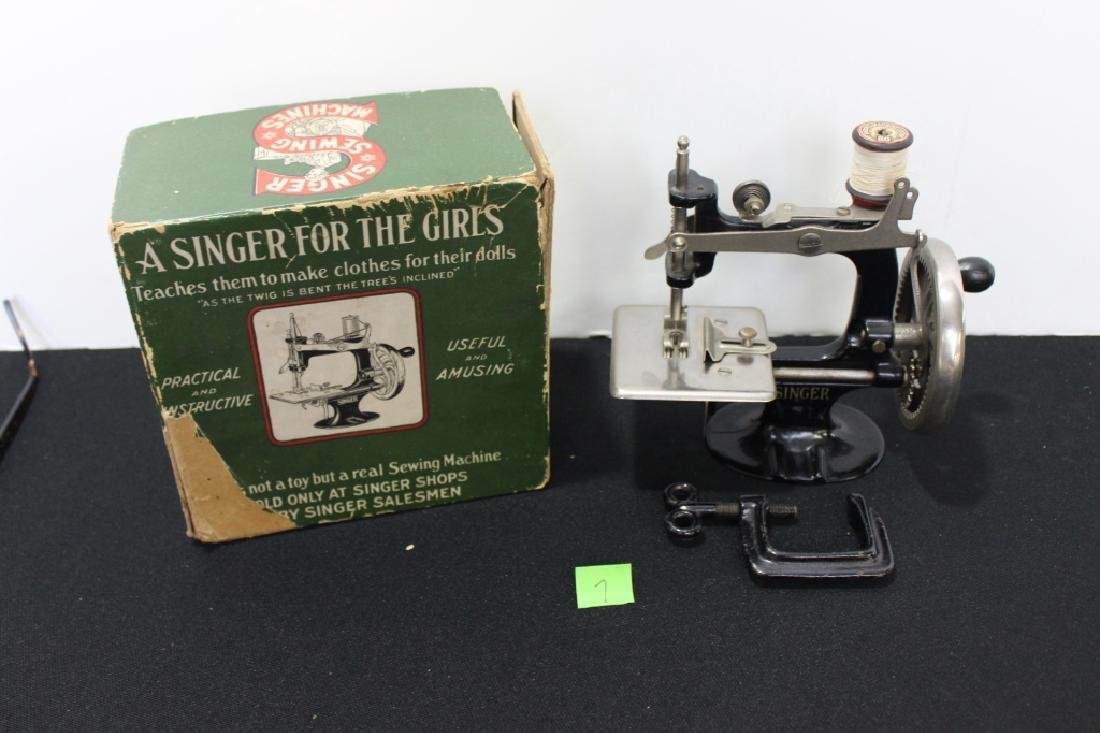 Toy Singer Sewing Machine - 1914