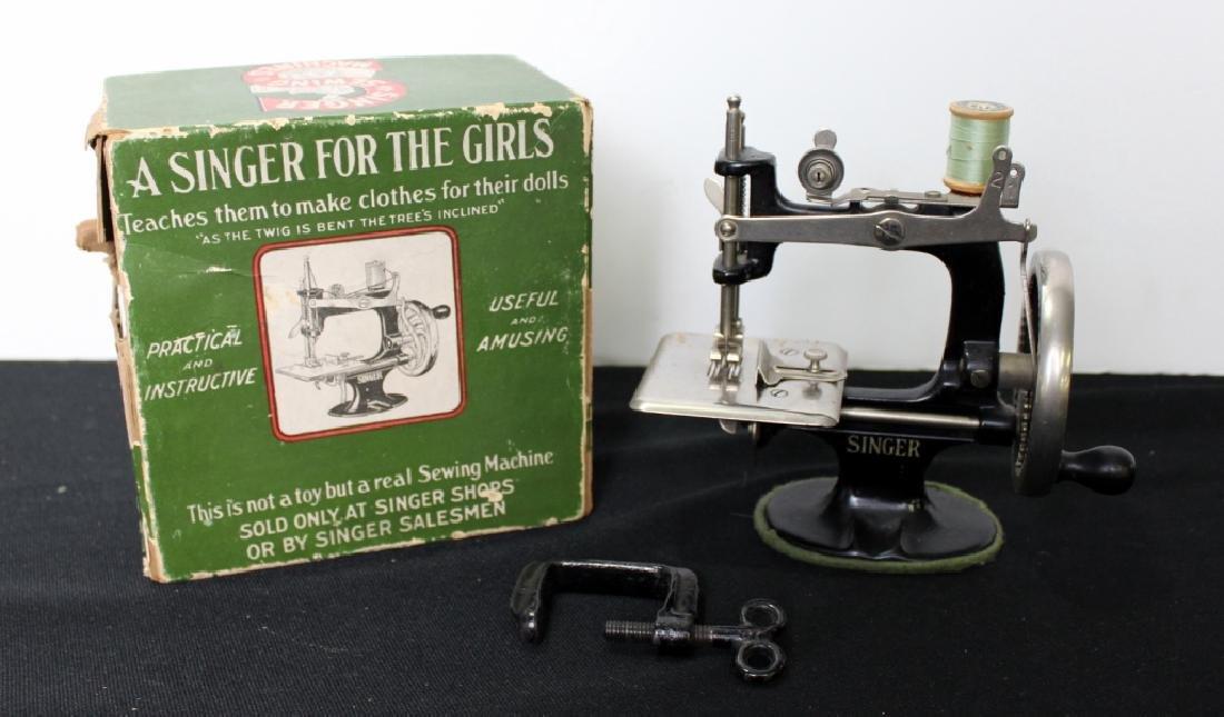 Toy Singer Sewing Machine - 1910